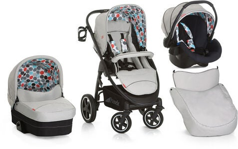 Hauck Fisher Price Montreal Plus Triosæt, Gumball Grey