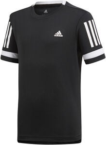 Adidas Boys Club Tee T-shirt Striber, Black