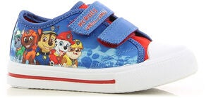 Paw Patrol Sneakers, Red/Cobalt Blue