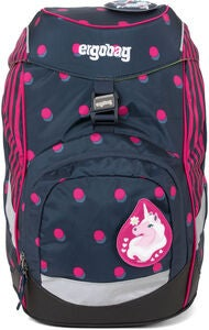 Ergobag Prime Shoobi DooBear Rygsæk 20L, Blue Purple Dots
