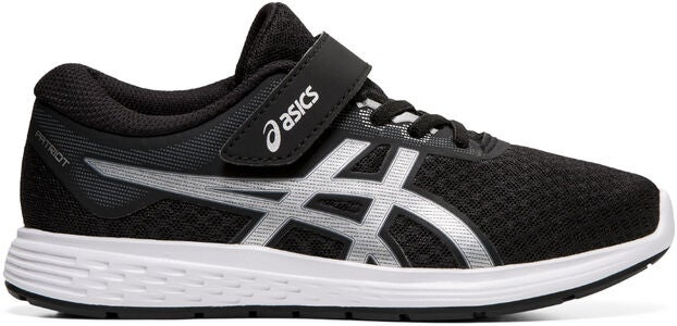 Asics Patriot 11 PS Sneakers, Black/Silver