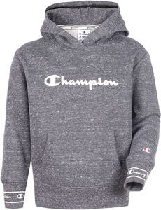 Champion Kids Hoodie, New Charcoal Grey Melange Dark