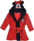 Disney Minnie Mouse Morgenkåbe m. Hjemmesko, Red