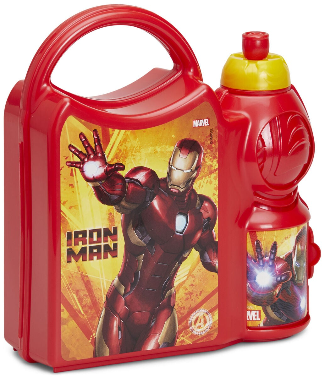 Marvel Avengers Iron Man Madkassesæt
