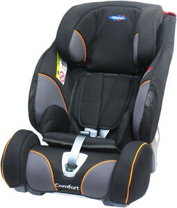Klippan Triofix Recline Comfort Autostol, Black Orange