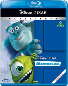 Disney Pixar Monsters Inc Blu-Ray