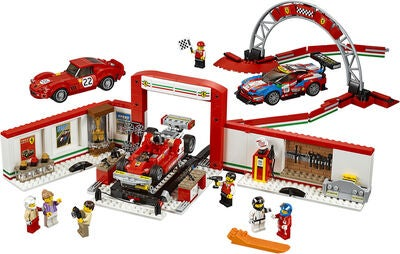 LEGO Speed Champions 75889 Ferrari Ultimativt  Værksted