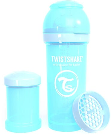 Twistshake 260 ml Anti Colic Sutteflaske, Blå