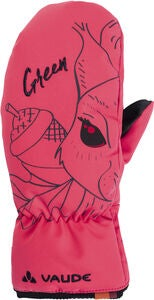Vaude Kids Small Gloves III Vanter, Bright Pink