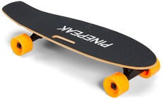 Pinepeak Elektronisk Skateboard, Sort