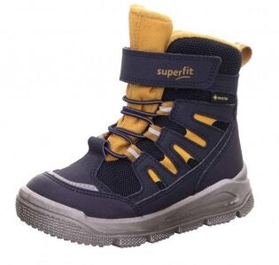 Superfit Mars GTX Vinterstøvler, Blue/Yellow