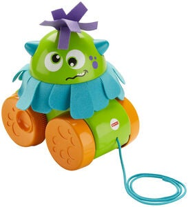 Fisher-Price Træklegetøj Monster Walk & Whirl