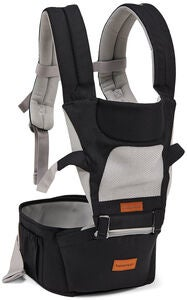 Beemoo Carry Comfort Air Bæresele, Black