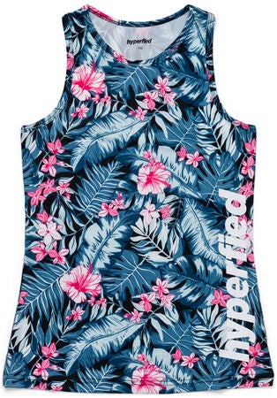 Hyperfied Split Tank Top 3-pak, Black Leo/Fairy Tale/Tropical Flower