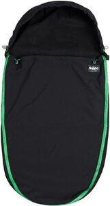 The Buppa Brand Softshell Kørepose, All Black Green