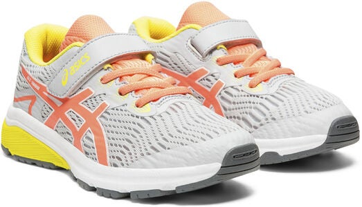 Asics GT-1000 8 PS Sneakers, Piedmont Grey/Sun Coral