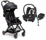 Beemoo Easy Fly Klapvogn & Maxi Cosi Cabriofix m. base, Black