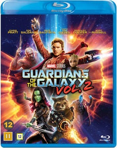 Marvel Guardians Of The Galaxy II Blu-Ray