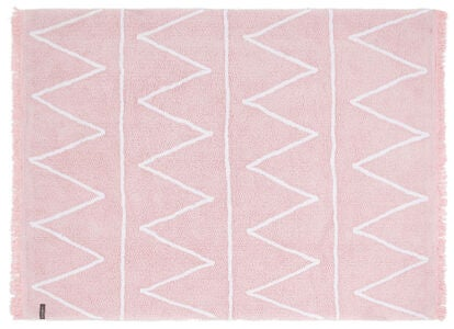 Lorena Canals Tæppe Zigzag, Soft Pink