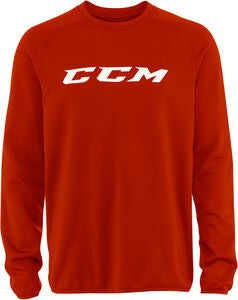 CCM Locker Room Suit Top JR Trøje, Red
