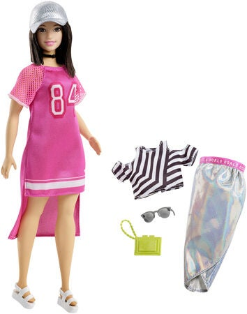Barbie Fashionistas Dukke Hot Mesh 101