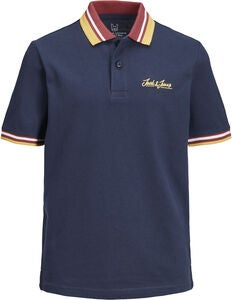 Jack & Jones Dusai Polotrøje, Total Eclipse