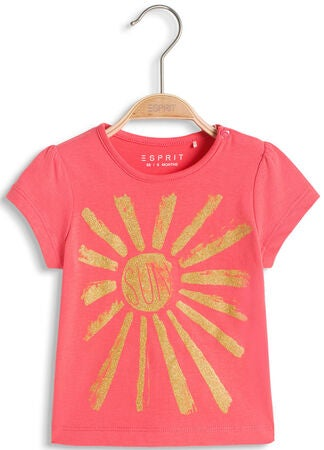 ESPRIT T-shirt Sun, Coral Red