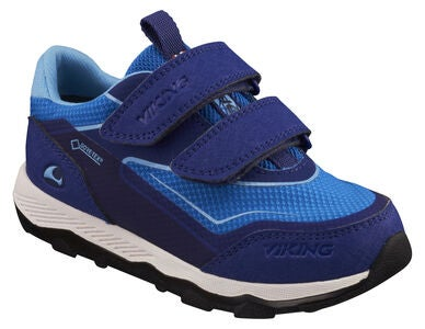 Viking Evanger Low GTX Sneakers, Dark Blue/Blue