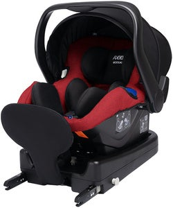Axkid Modukid Infant Autostol Inkl. Base, Red