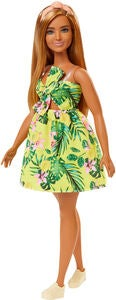 Barbie Fashionistas Dukke 126 Yellow Dress