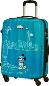 American Tourister Alfatwist Spinner Rejsekuffert 62.5L, Take Me Away Mickey NYC