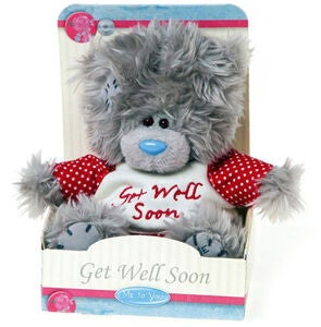 Me To You Bamse Get Well Soon 13 cm