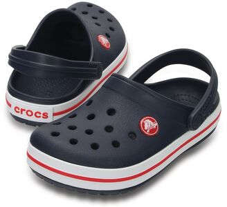 Crocs Crocband Clogs, Navy/Red