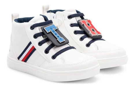 Tommy Hilfiger High Top Sneakers, White
