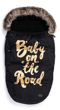 ac44294e697 Køb Petite Chérie Kørepose Baby On The Road, Black/Gold | Jollyroom