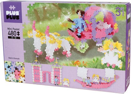 Plus-Plus 3in1  Princess Pastel 480 Brikker