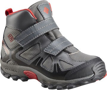 Columbia Children's Peakfreak Støvler, Grey/Red