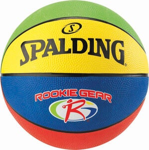 Spalding JR NBA Rookie Gear out Basketball 5 out