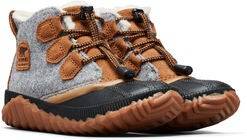 Sorel Youth Out N About Plus Støvler, Quarry/Camel Brown