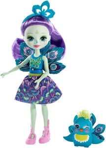 Enchantimals Figurer Patter Peacock & Flapp