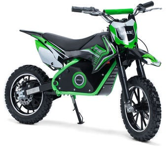 Impulse Electric Dirt Bike 500 W, Grøn