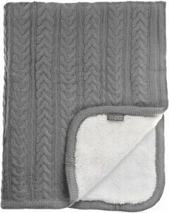 Vinter & Bloom Tæppe Cuddly, Dove Grey