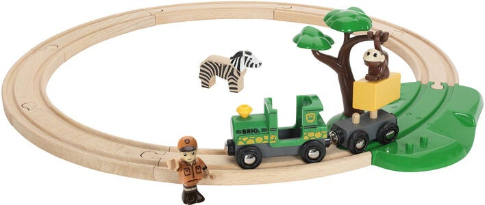 BRIO World 33720 Safari Togbane Sæt