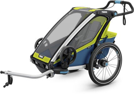 Thule Chariot Sport 1 Cykelanhænger, Chartreuse
