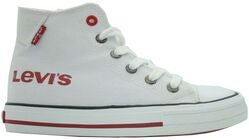 Levi's Duke Hi Print Sneakers, White