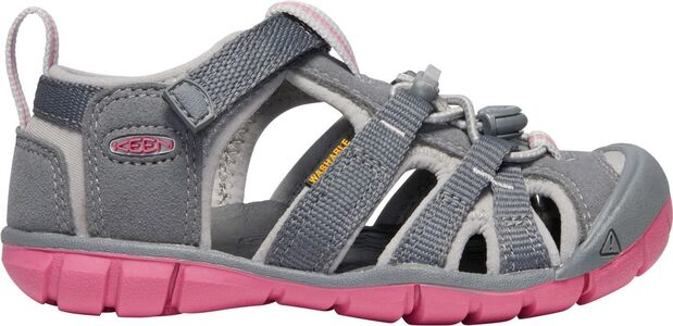KEEN Seacamp II CNX Sandaler, Steel Grey/Rapture Rose
