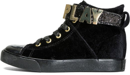 Replay McCartney Sneakers, Black/Gold