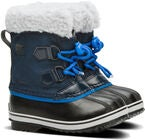 Sorel Youth Pac Nylon Vinterstøvler, Collegiate Navy