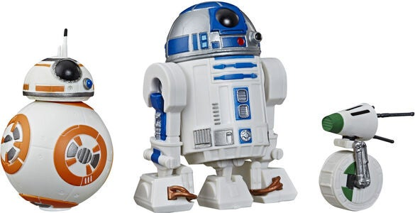 Star Wars E9 Figurer Droid 3-pak