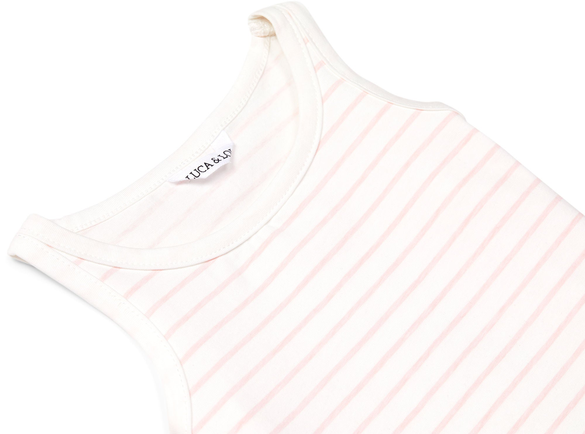 Luca & Lola Jemma Top 2-pak, Pink/Stripes